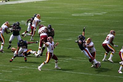 Washington Redskins vs Bears 2005