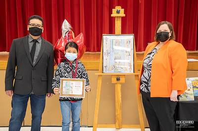LBJ Elementary Students Win in Texas Cavaliers' River Parade Art Contest