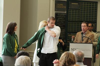 Michael's Graduation From NDSU
