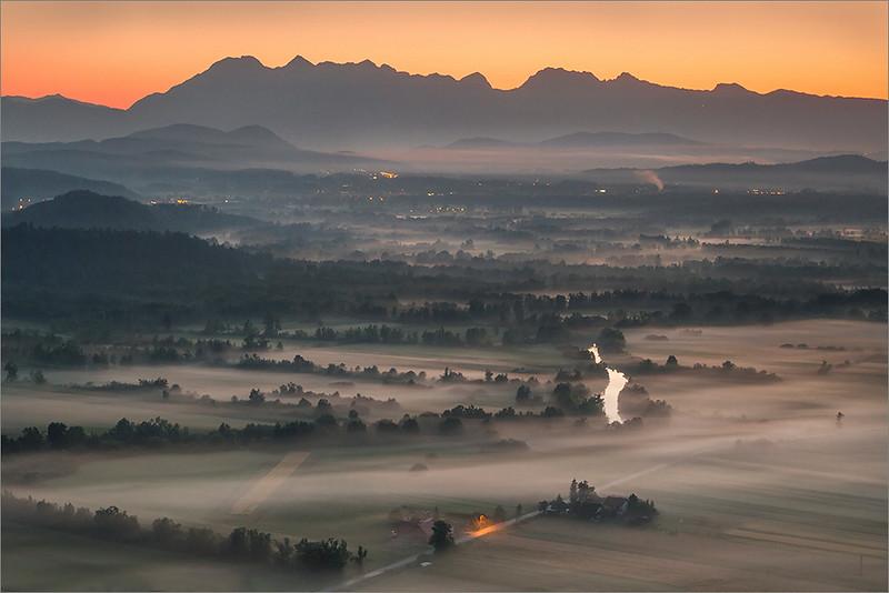 Misty Alps
