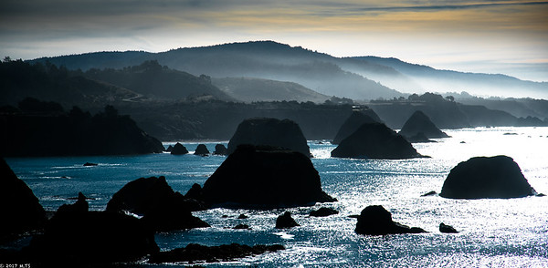 pacific coast and highway 1