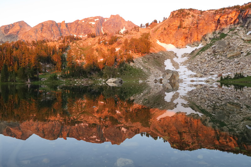 Holly Lake - a good place to reflect....