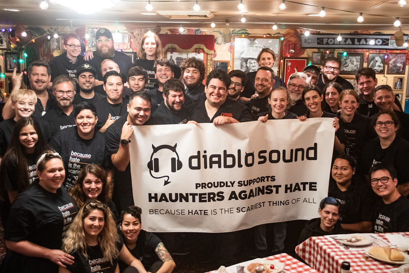 Haunters Against Hate Group Shot
