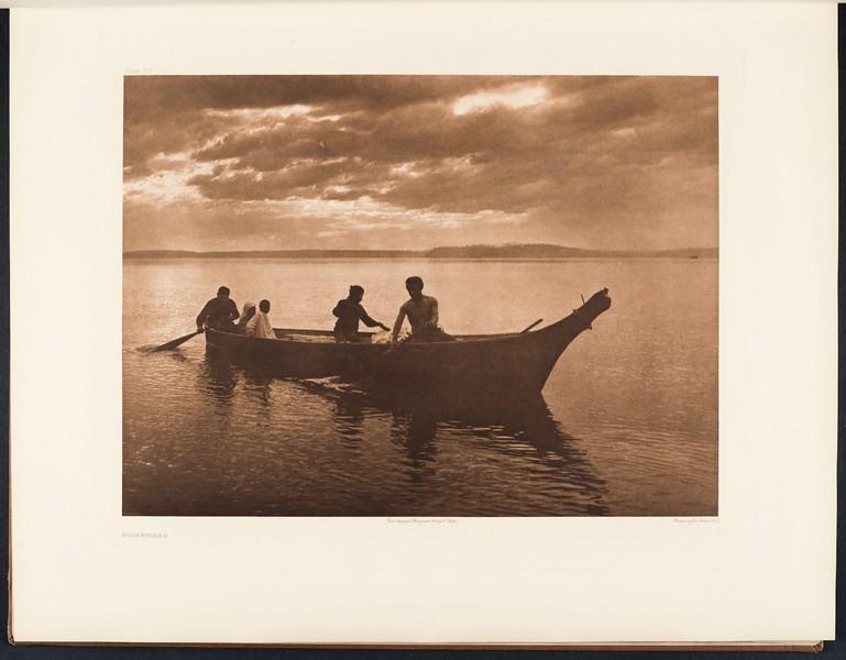 The North American Indian, vol. 9 suppl., pl. 318. Homeward