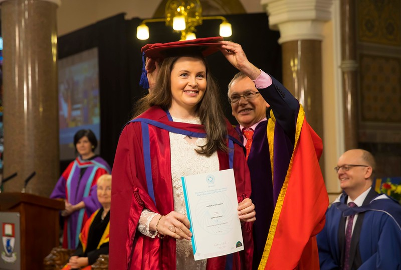 03/11/2016. Waterford Institute of Technology (WIT) Conferring Ceremonies November 2016:  Pictured is Monica Murphy, Tallow, Co. Waterford who was conferred a PhD. Picture: Patrick Browne