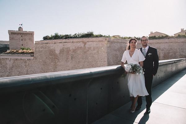 Léa&Edouard Mariage Hotel Intercontinal Marseille
