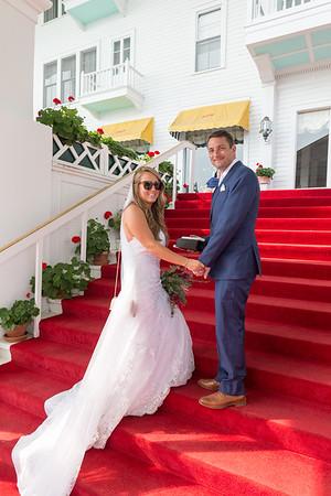 Morgan + Ryan | Wedding Mackinac Island Reception Petoskey Michigan
