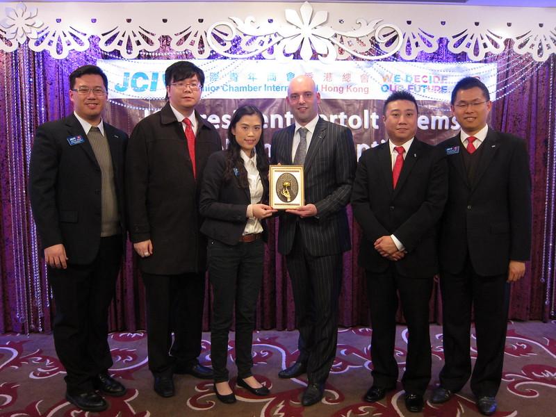 20120103 - JCI President Reception