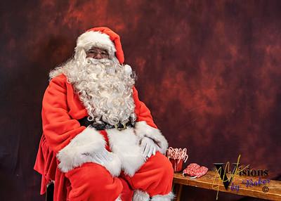 2020 Santa with Edward Jones