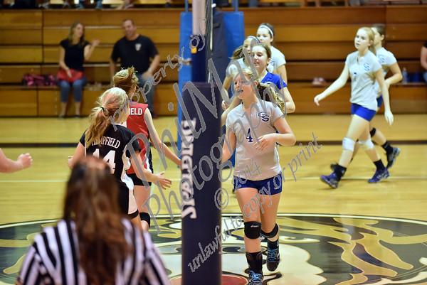 Finals - Hempfield vs Garden Spot JH Volleyball