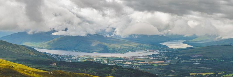 Loch Eil and loch Linnhe