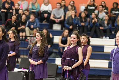 2018 Wolverine Winter Guard Contest, March 3, 2018