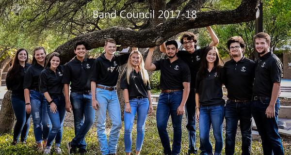 20170807 Band Council 2017-2018