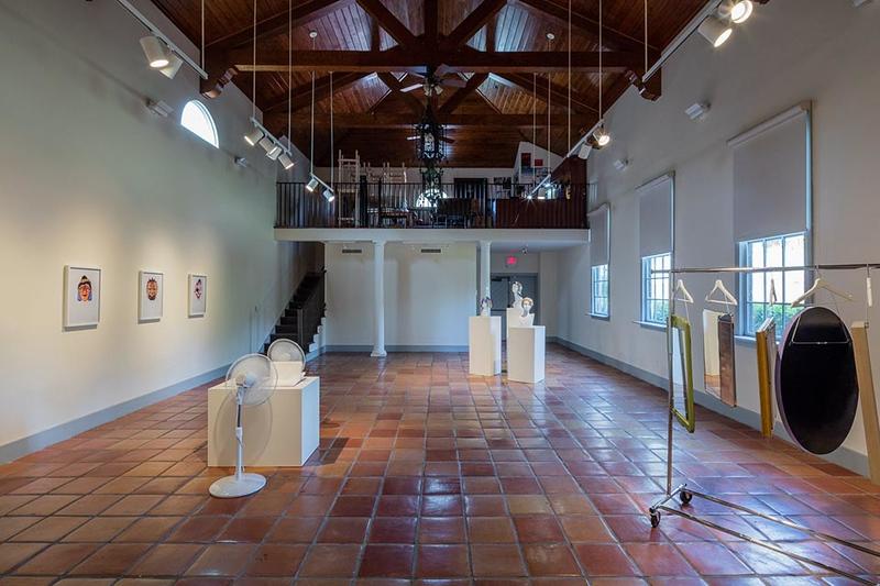 Jamie Isenstein, Head Space, Installation View.Jamie Isenstein, Head Space, Installation View.