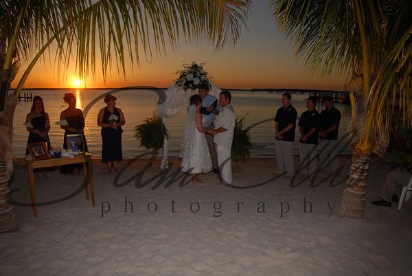Weyandt/Ebersol- Pre-ceremony and ceremony
