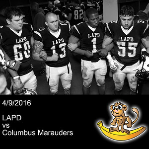2016-04-09 LAPD vs Columbus Marauders