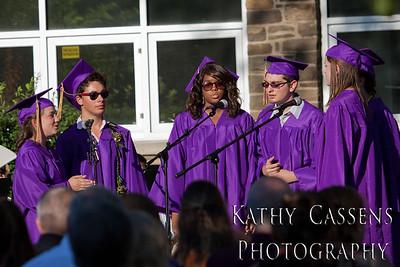 Rhinebeck High School Graduation 2012