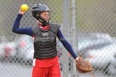 Softball, H.S. Varsity, St John's vs Holy Trinity, 04-27-08