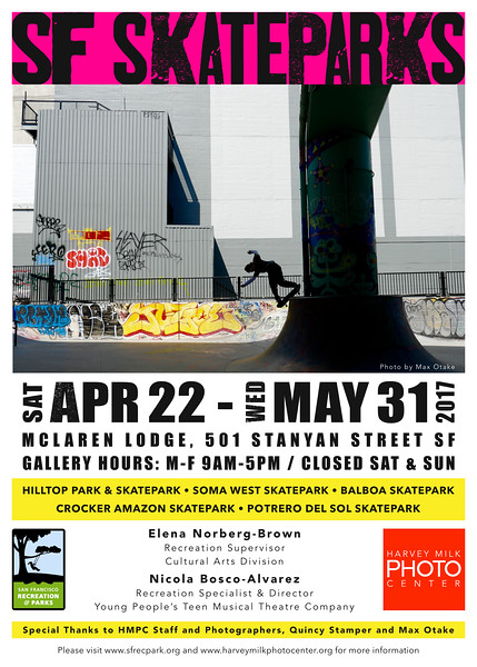 SF Skate Parks - 5x7 Postcard - Front Draft 6