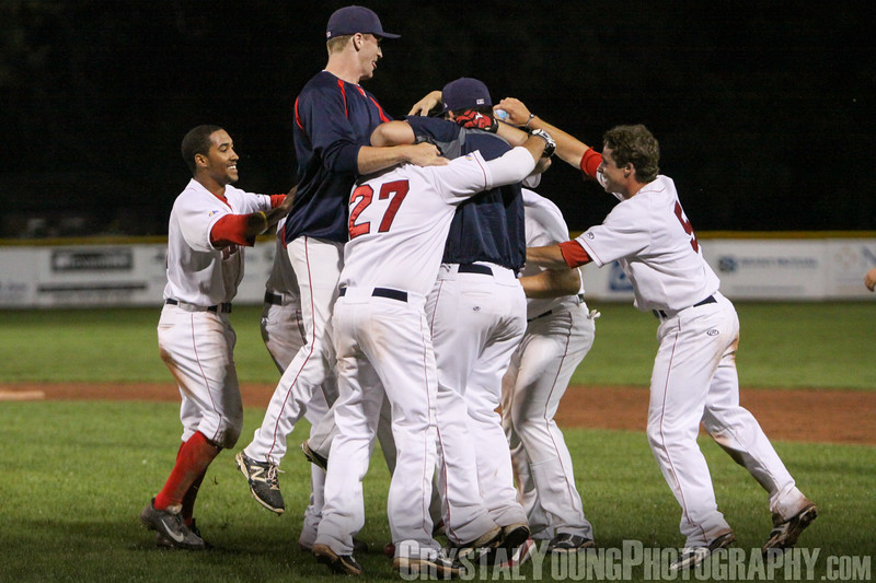 Barrie Baycats at Brantford Red Sox July 2, 2014