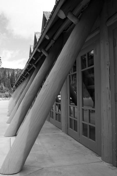 Paradise Lodge. Mt. Rainier National Park.