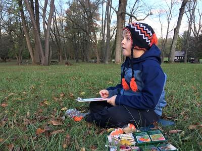 4th Grade - Tree Sketching Ft. Washington Sate Park