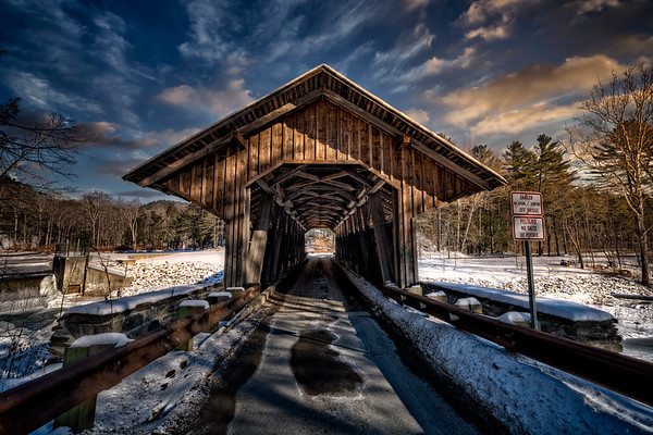 The Eunice Williams Covered Bridge