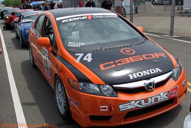 Compass360 Racing Honda Civic Si