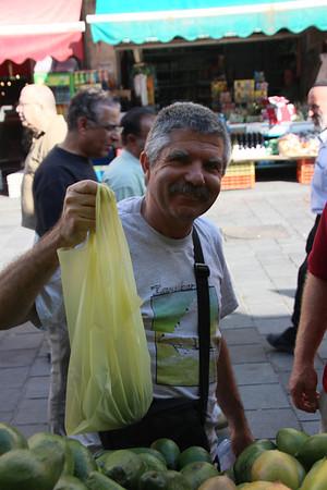 me in Machane Yehuda buying mangos