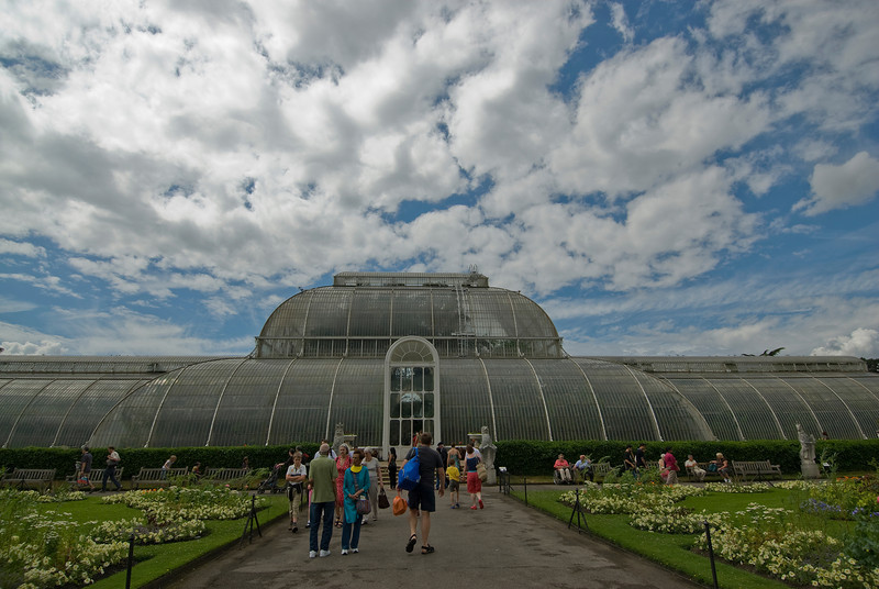 The Greenhouse at the Royal Botanical Gardens in Kew, England
