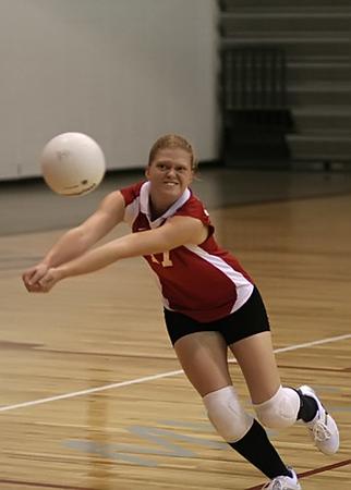 SNHS Volleyball vs Rensselaer 2007