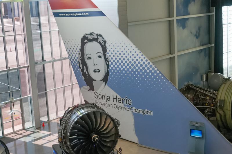 Sogar die kleine norwegische Fluggesellschaft Norwegian war vertreten. Sie hat vor ein paar Monaten etwa 200 Maschinen bei Boeing geordert!