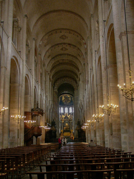Toulouse, Saint-Sernin Basilica