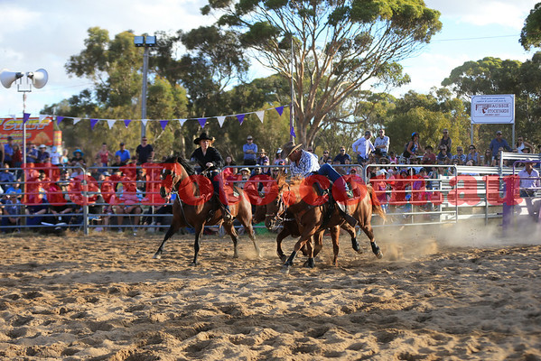 2014 03 08 Wagin Woolorama Rodeo Steer Wrestling