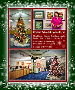 Art Gallery at The Baldwinsville Public Library by Anna Perun