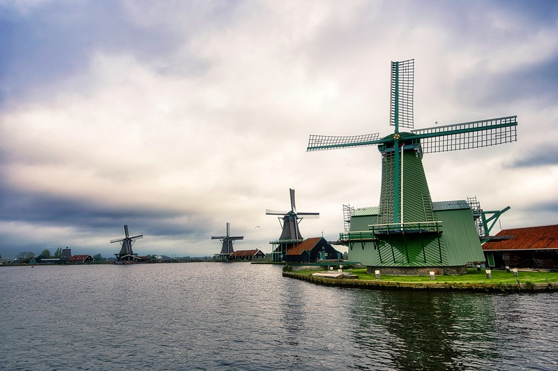 Windmills in Netherland