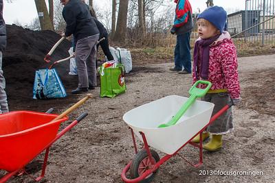 Vinkhuizen Hoendiep 2013 Compost actie