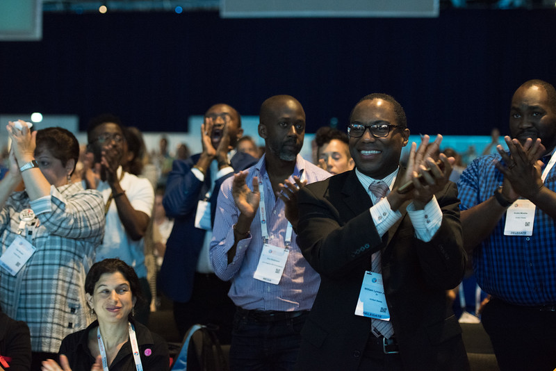 22nd International AIDS Conference (AIDS 2018) Amsterdam, Netherlands   Copyright: Marcus Rose/IAS  Photo shows: Plenary Session.