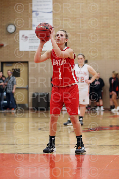 1/20/2015 Eaton JV Girls Basketball vs Sterling