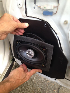 1990 Nissan Maxima AW Edition Front Door Speaker Installation - USA