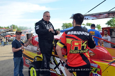 Cornwall Motor Speedway - 6/9/19 - Rick Young