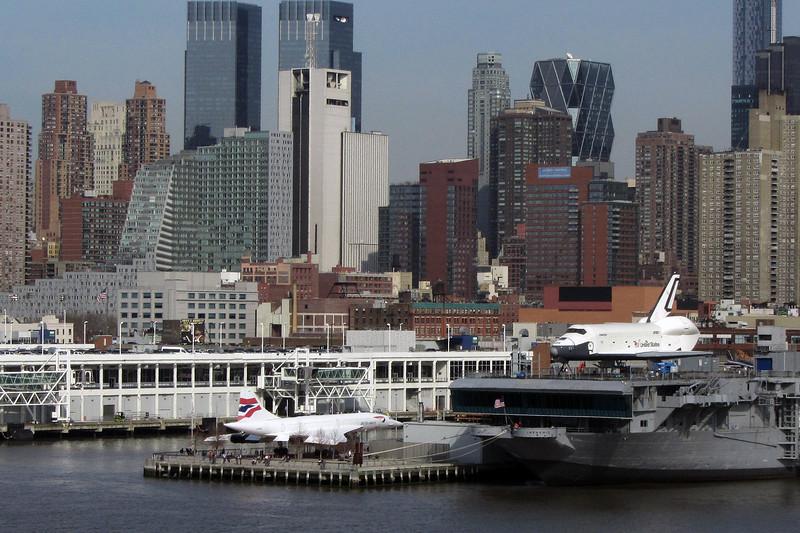 Space Shuttle & Concorde