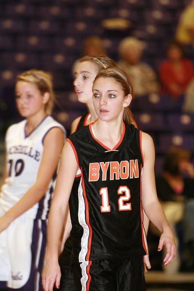 2007-08 LADY HUBS VARSITY BASKETBALL vs BYRON