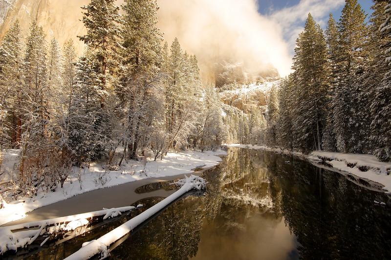 Winter Morning, Yosemite Valley Yosemite National Park California
