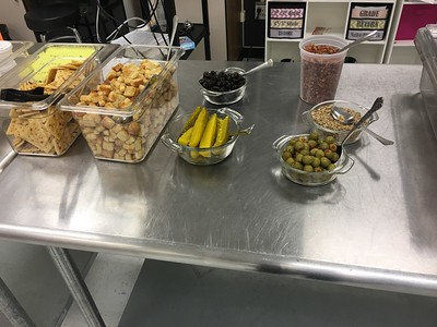 CTE First Salad Bar