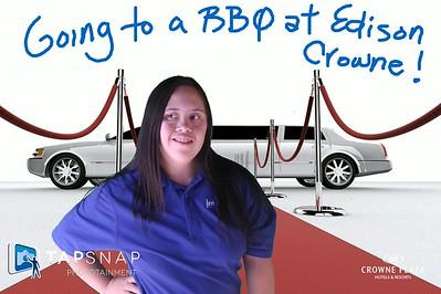 Crowne Plaza Edison Client BBQ