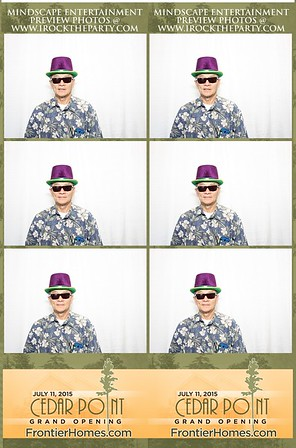 Cedar Point Grand Opening - Photo Booth Pictures