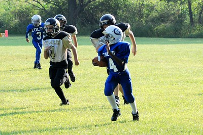 Warriors VS Colts 2008