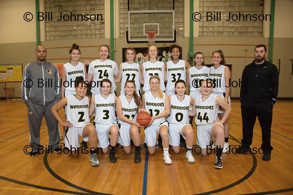 Nauset Girls Varsity Basketball Team and Roster 2017-18