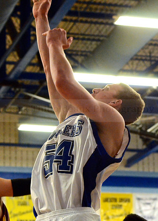 Lampeter-Strasburg JV/V Boy's Basketball v. Col 12.16.13